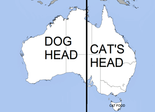 austrailia dog cat