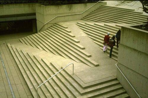 Wheelchair stairs the incidental economist for Handicap stairs plans